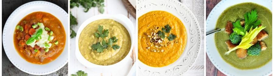Recettes santé de soupes