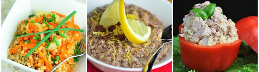 Recettes de couscous pauvres en calories pour régime