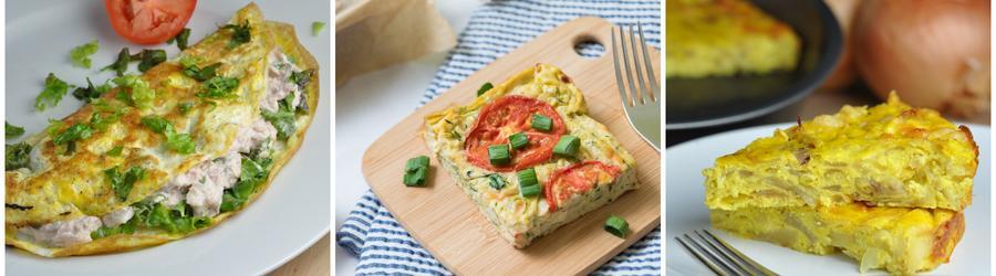 Recettes à base d'oeufs pauvres en calories pour régime