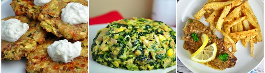 Recettes de légumes pauvres en glucides