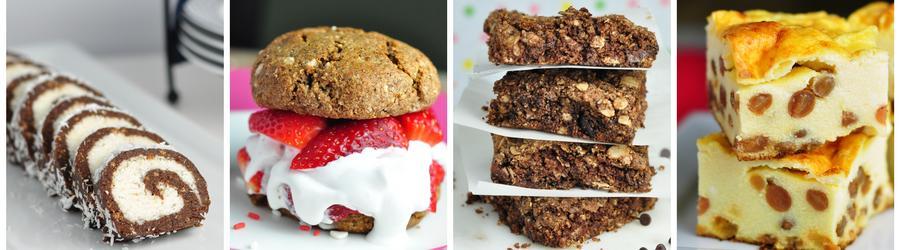 Recettes de desserts & gâteaux santé
