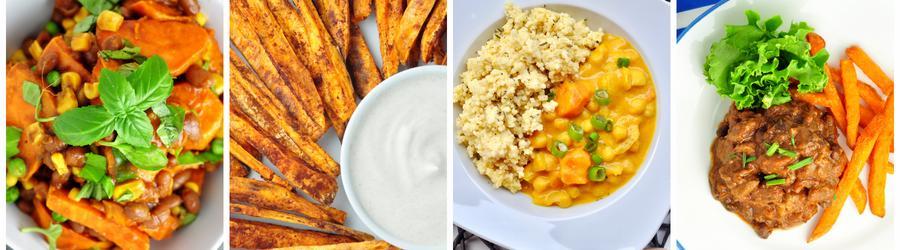 Recettes santé à base de patate douce