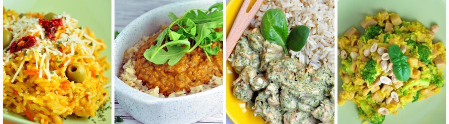Recettes santé à base de riz