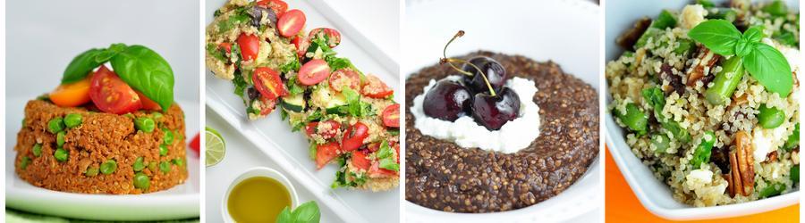 Recettes santé à base de quinoa