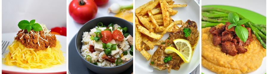 Recettes de dîners et de déjeuners sans gluten