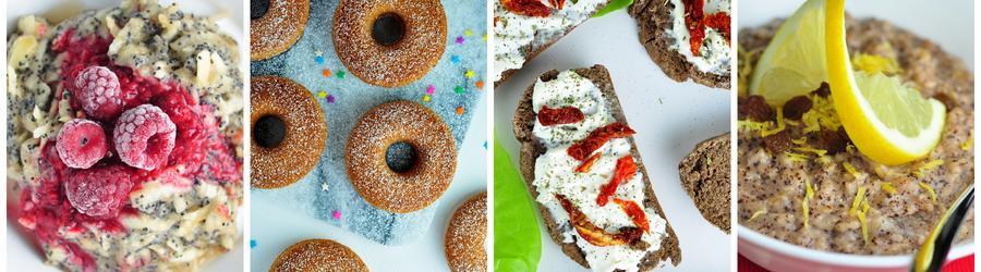 Recettes santé de petits-déjeuners végan