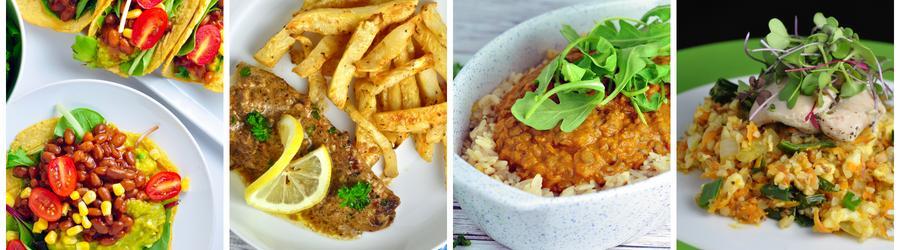 Recettes santé de dîners et déjeuners sans produits laitiers