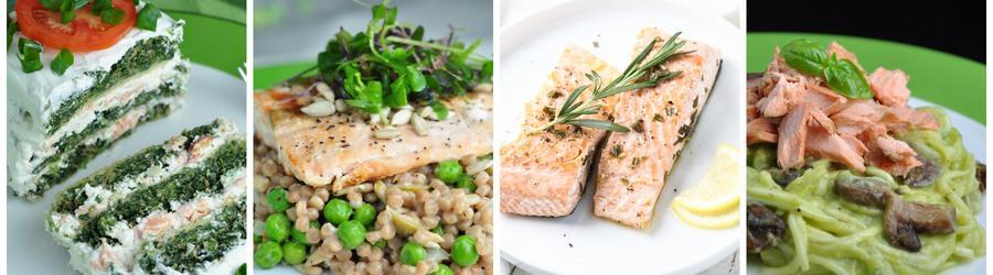 Recettes santé de dîners et de déjeuners à base de saumon