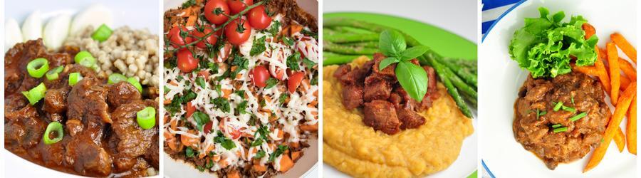 Recettes santé de dîners et de déjeuners à base de boeuf