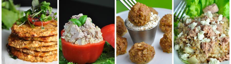 Recettes santé de dîners et de déjeuners à base de thon
