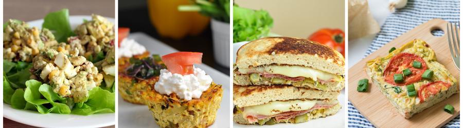 Recettes santé de petits-déjeuners riches en protéines