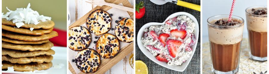 Recettes de petits-déjeuners fitness à base de poudre protéinée