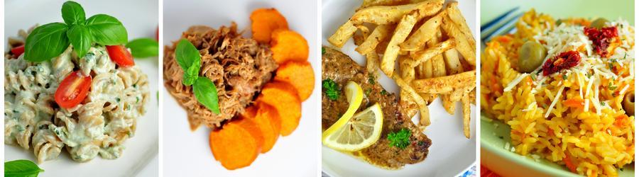 Recettes de déjeuners et de dîners pauvres en calories
