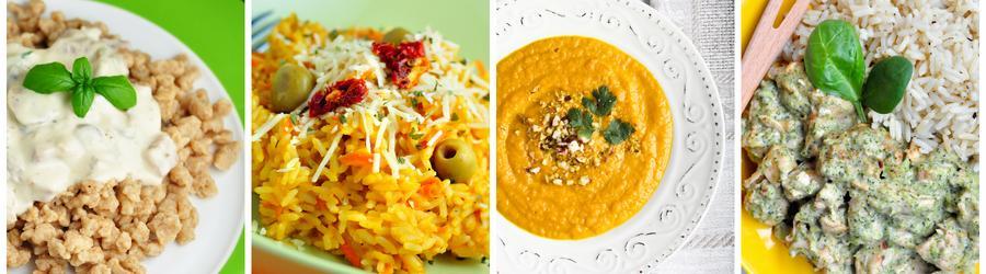 Recettes de déjeuners et de dîners pauvres en matières grasses