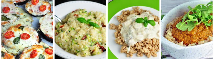 Recettes de déjeuners et de dîners équilibrés et végétariens