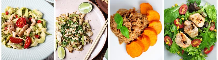 Recettes de dîners et de déjeuners santé à base de poulet
