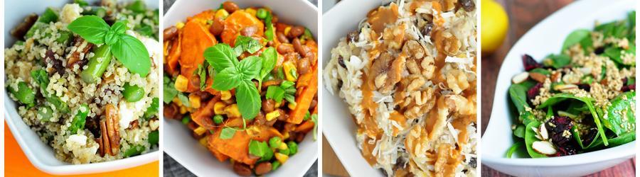 Recettes de salades vegan santé