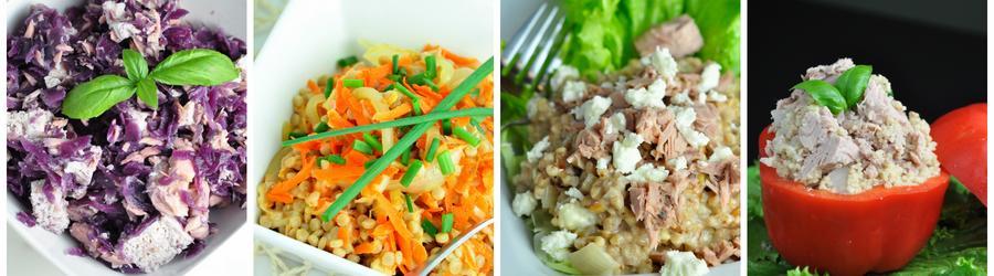 Recettes de salade santé à base de thon