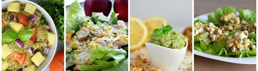 Recettes de salade santé à base d'avocat