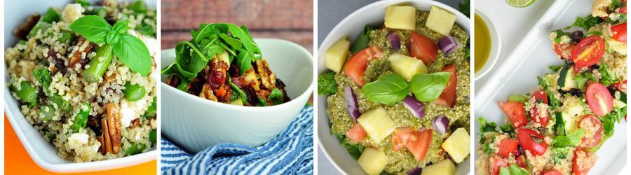 Recettes de salade santé à base de quinoa
